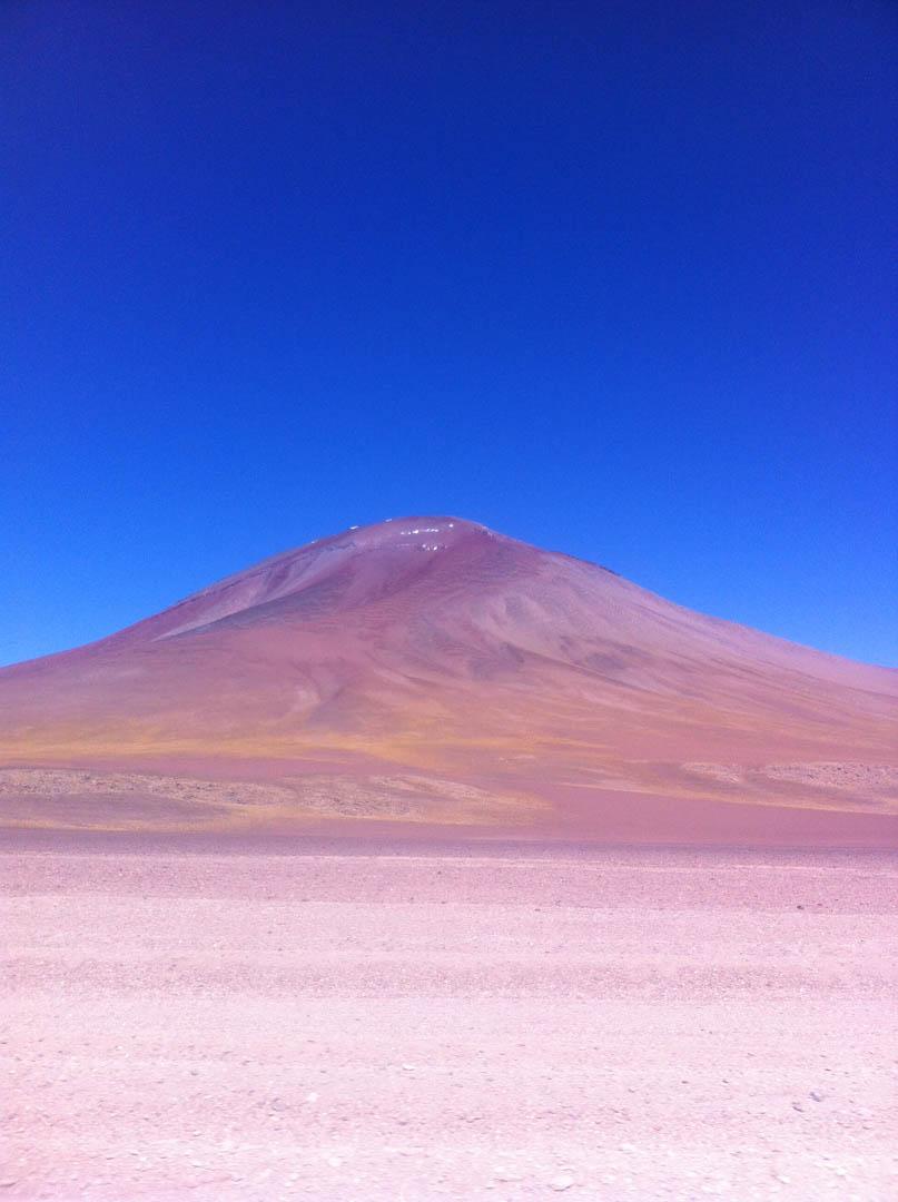 O deserto e a beleza que balança