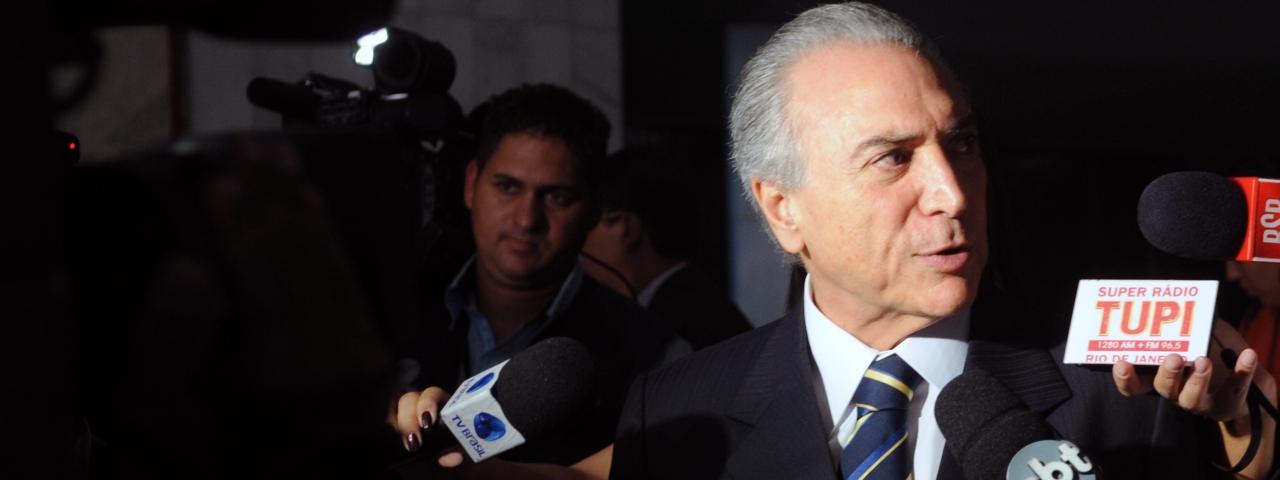 Temer é o primeiro presidente ficha-suja do Brasil