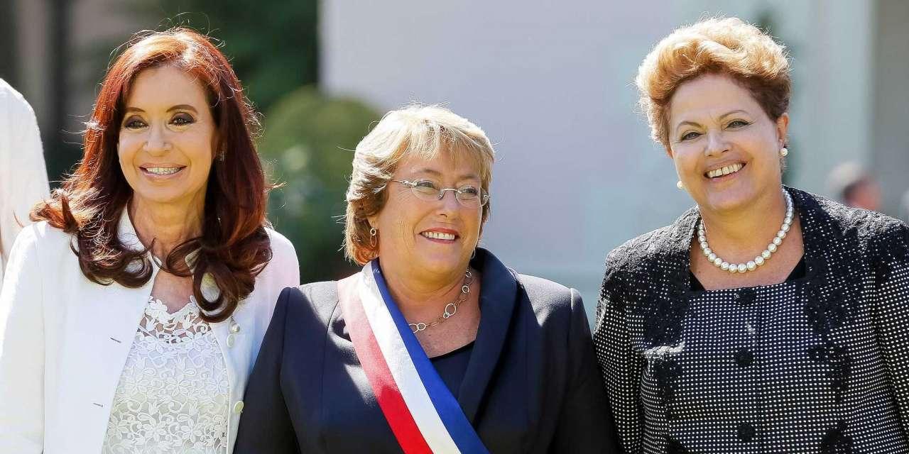 Cristina, Bachelet, Dilma e o velho machismo latino 1