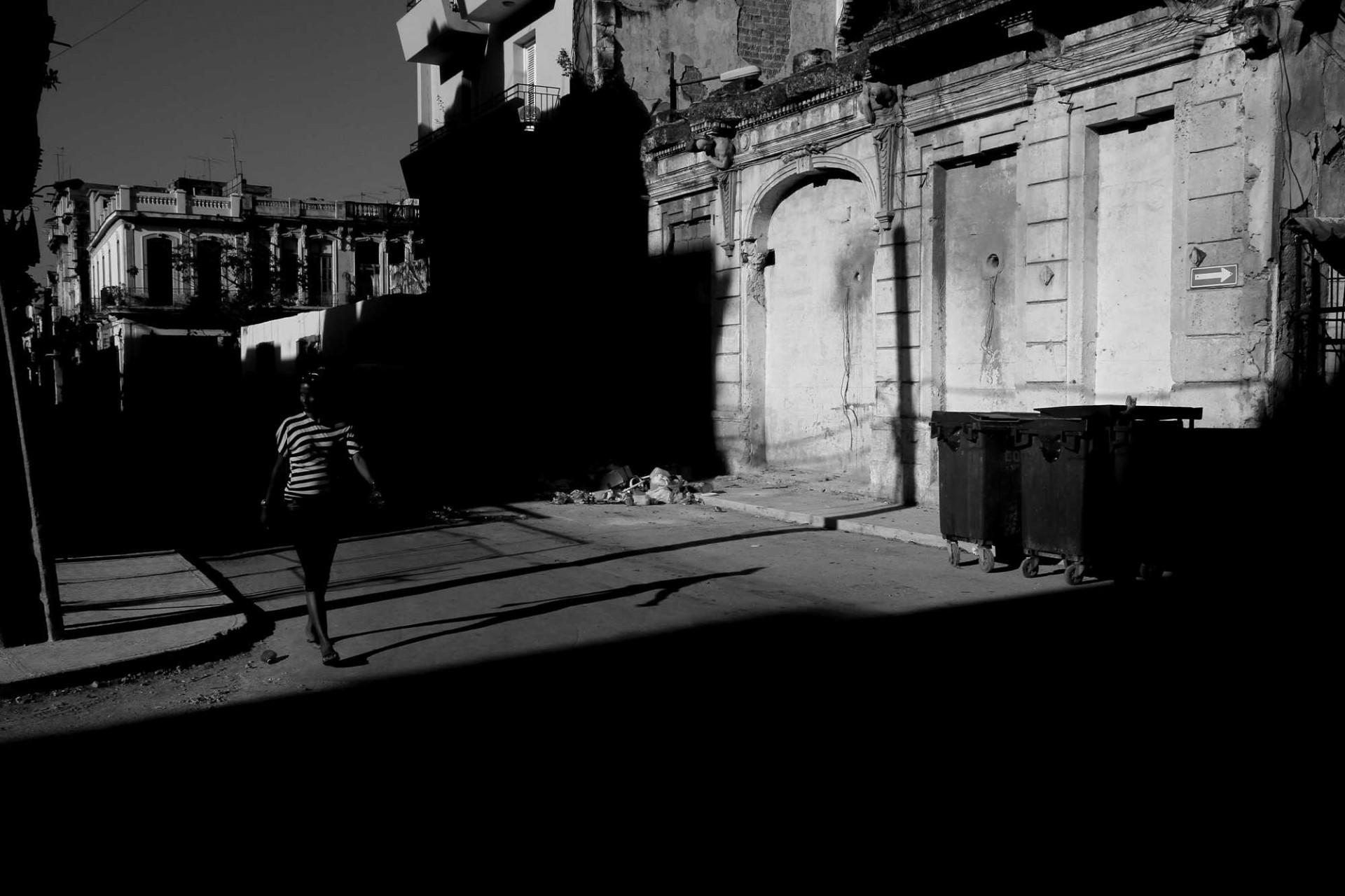 O silêncio de uma Cuba em preto e branco